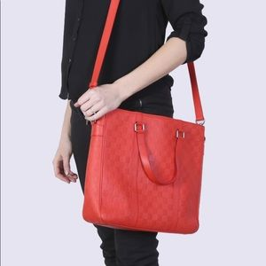 Genuine Louis Vuitton Bag Tadao PM Damier Infini